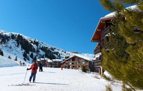 Location Méribel-Mottaret : Residence Le Hameau Du Mottaret hiver