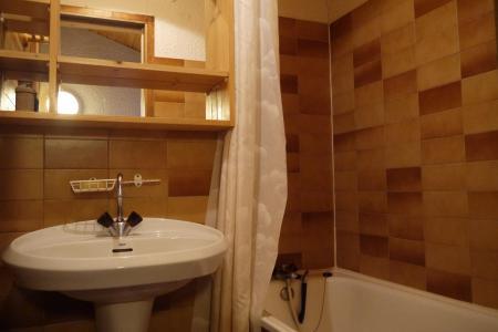 Location au ski Studio mezzanine 4 personnes (F07) - Résidence le Lac Blanc - Méribel-Mottaret - Baignoire