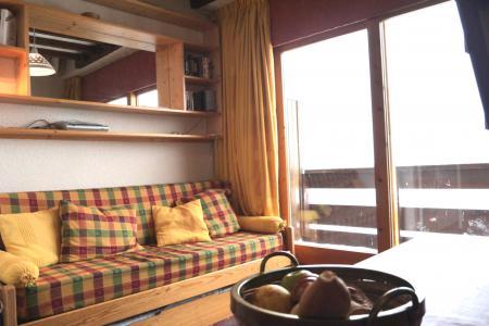Location au ski Studio mezzanine 4 personnes (F07) - Résidence le Lac Blanc - Méribel-Mottaret - Séjour
