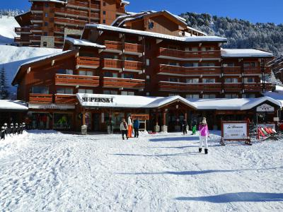 Vacances en montagne Résidence le Pralin - Méribel-Mottaret - Extérieur hiver