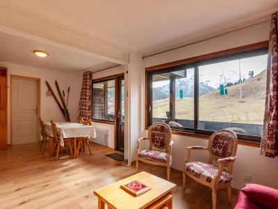 Location au ski Studio 5 personnes (015) - Résidence le Roc de Tougne - Méribel-Mottaret
