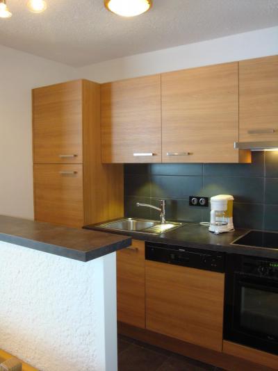 Ski verhuur Appartement 2 kamers 5 personen (401) - Résidence le Ruitor - Méribel-Mottaret - Keukenblok