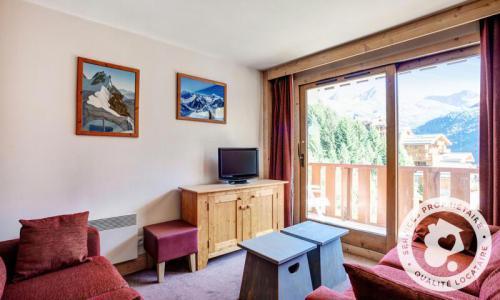 Location au ski Appartement 3 pièces 6 personnes (46m²) - Résidence les Crêts - Maeva Home - Méribel-Mottaret - Séjour