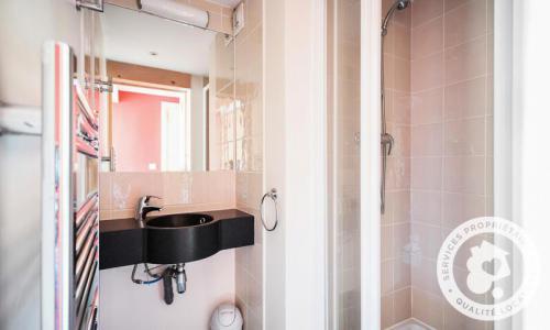 Location au ski Appartement 3 pièces 6 personnes (46m²) - Résidence les Crêts - Maeva Home - Méribel-Mottaret - Extérieur hiver