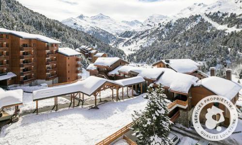 Location au ski Résidence les Crêts - Maeva Home - Méribel-Mottaret - Extérieur hiver