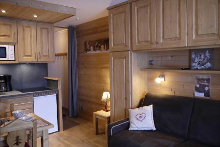 Location au ski Studio 3 personnes (002) - Résidence les Provères - Méribel-Mottaret