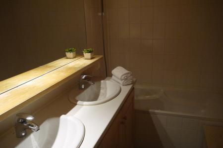 Location au ski Appartement 2 pièces 5 personnes (034) - Résidence les Provères - Méribel-Mottaret - Baignoire