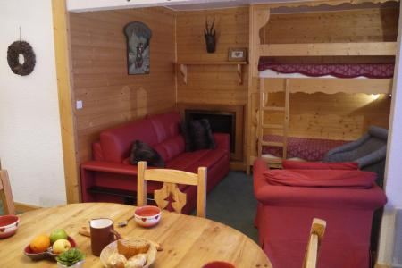 Location au ski Appartement 2 pièces 5 personnes (034) - Résidence les Provères - Méribel-Mottaret - Table