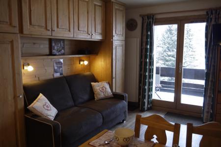 Location au ski Studio 3 personnes (002) - Résidence les Provères - Méribel-Mottaret - Appartement