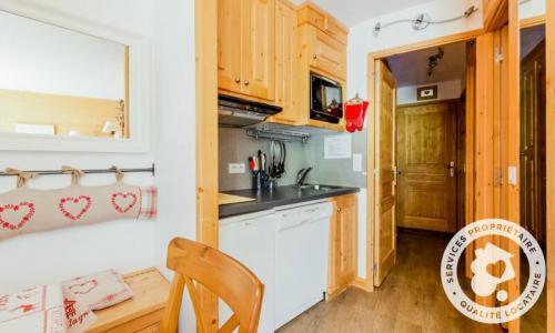 Location au ski Appartement 2 pièces 6 personnes (Prestige 30m²-8) - Résidence les Sentiers du Tueda - Maeva Home - Méribel-Mottaret - Extérieur hiver