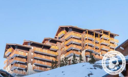 Location au ski Résidence les Sentiers du Tueda - Maeva Home - Méribel-Mottaret - Extérieur hiver