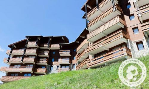 Location au ski Appartement 3 pièces 8 personnes (Prestige 50m²) - Résidence les Sentiers du Tueda - Maeva Home - Méribel-Mottaret - Extérieur hiver