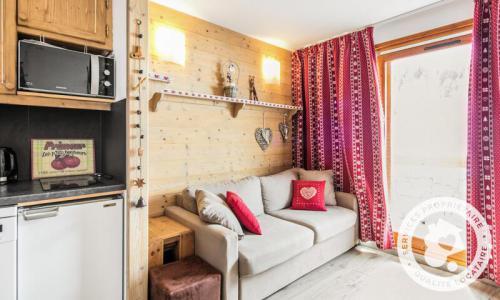 Location au ski Studio 4 personnes (22m²) - Résidence les Sentiers du Tueda - Maeva Home - Méribel-Mottaret - Extérieur hiver