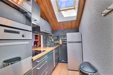 Location au ski Appartement 2 pièces cabine 6 personnes (MTV036) - Résidence Mont Vallon - Méribel-Mottaret - Cuisine