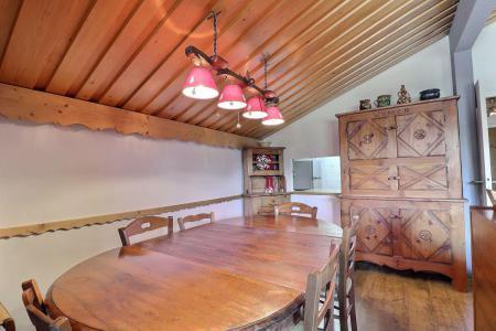 Location au ski Appartement 2 pièces cabine 6 personnes (MTV036) - Résidence Mont Vallon - Méribel-Mottaret - Salle à manger