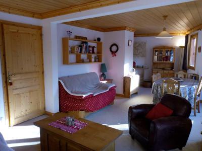 Location au ski Appartement 3 pièces 7 personnes (021) - Résidence Moraine - Méribel-Mottaret - Banquette-lit