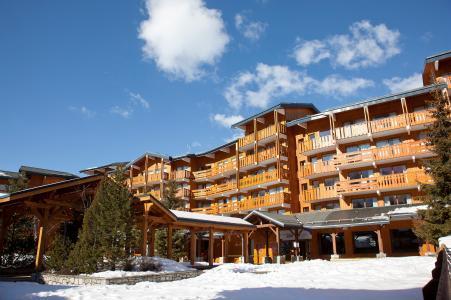 Location au ski Résidence P&V Premium les Crêts - Méribel-Mottaret - Extérieur hiver