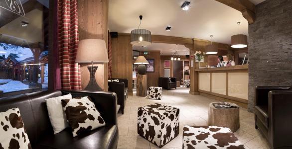 Location au ski Résidence P&V Premium les Crêts - Méribel-Mottaret - Réception