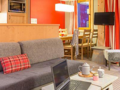 Location au ski Appartement 3 pièces 7 personnes (Espace) - Résidence P&V Premium les Crêts - Méribel-Mottaret
