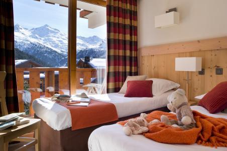 Location au ski Résidence P&V Premium les Crêts - Méribel-Mottaret - Chambre
