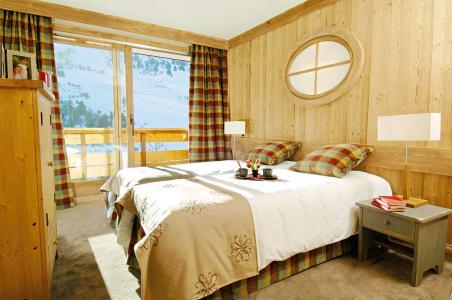 Rent in ski resort Résidence P&V Premium les Crêts - Méribel-Mottaret - Double bed