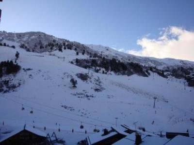 Location au ski Appartement 3 pièces cabine 6 personnes (450) - Résidence Pralin - Méribel-Mottaret - Extérieur hiver