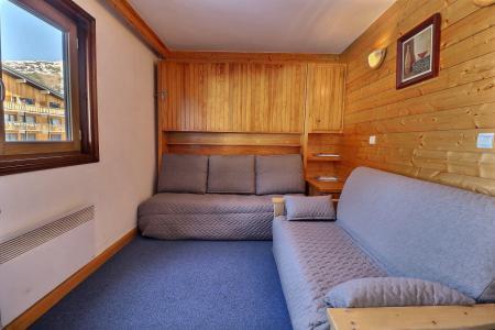 Location au ski Studio cabine 3 personnes (018) - Résidence Roc de Tougne - Méribel-Mottaret - Intérieur