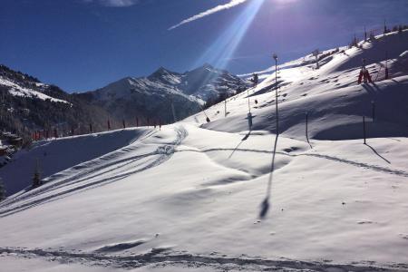 Location au ski Studio 2 personnes (025) - Résidence Roc de Tougne - Méribel-Mottaret - Chambre