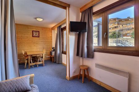 Location au ski Studio cabine 3 personnes (018) - Résidence Roc de Tougne - Méribel-Mottaret - Appartement