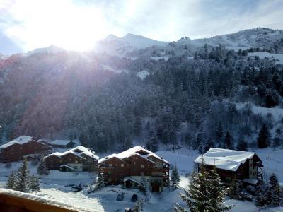Location au ski Appartement 3 pièces 7 personnes (002) - Résidence Sérac - Méribel-Mottaret - Extérieur hiver