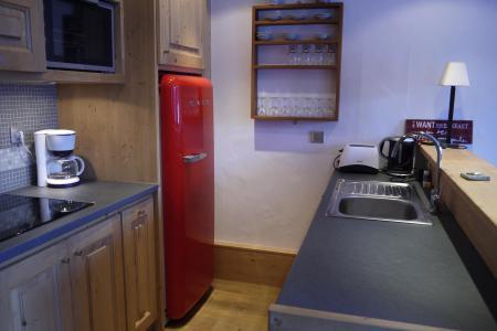 Location au ski Appartement 3 pièces cabine 7 personnes (007) - Résidence Sérac - Méribel-Mottaret - Cuisine