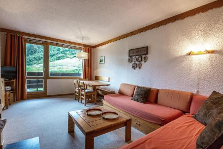 Location au ski Appartement 2 pièces 6 personnes (007A) - Résidence Verdons - Méribel-Mottaret - Banquette