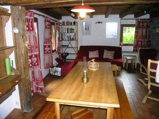 Location au ski Chalet duplex 4 pièces 8 personnes - Chalet La Gittaz - Méribel - Table