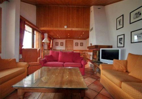 Location au ski Appartement duplex 8 pièces 15 personnes (DHA) - Chalet Vallon - Méribel - Séjour