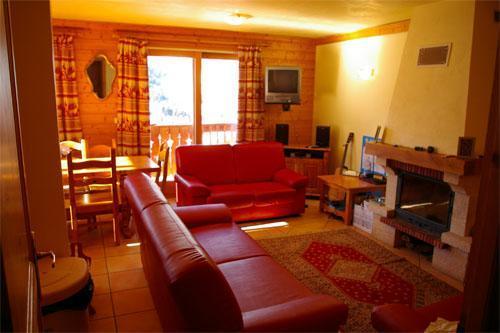 Location au ski Chalet 6 pièces 10 personnes (DFB) - Chalet Vallon - Méribel - Coin séjour