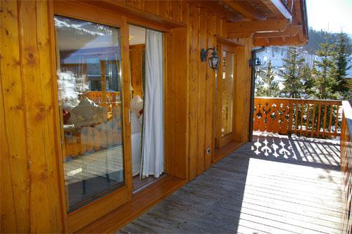 Location au ski Chalet Vallon - Méribel - Balcon