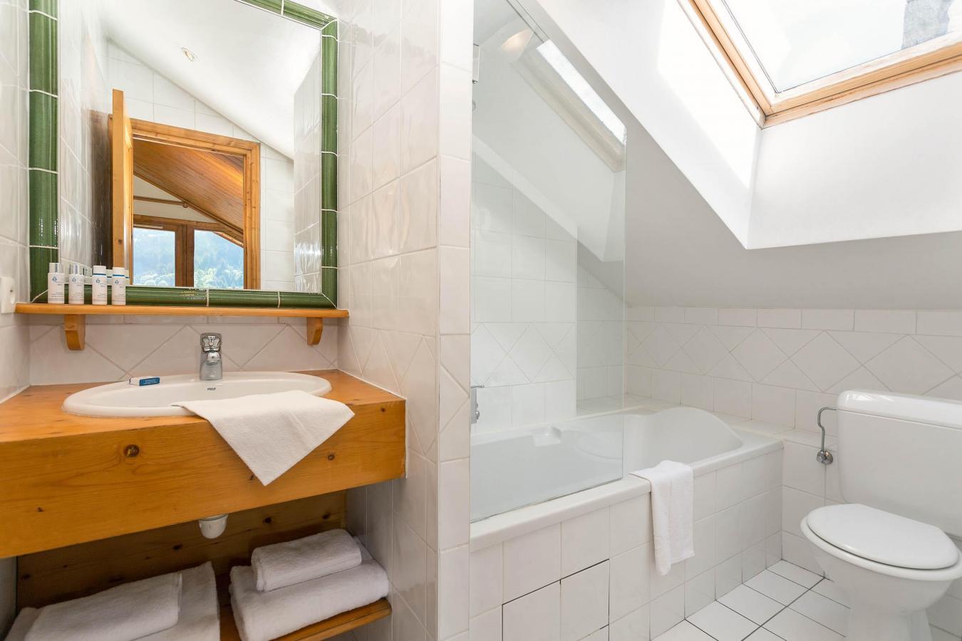 Location au ski Chalet Vallon - Méribel - Salle de bains