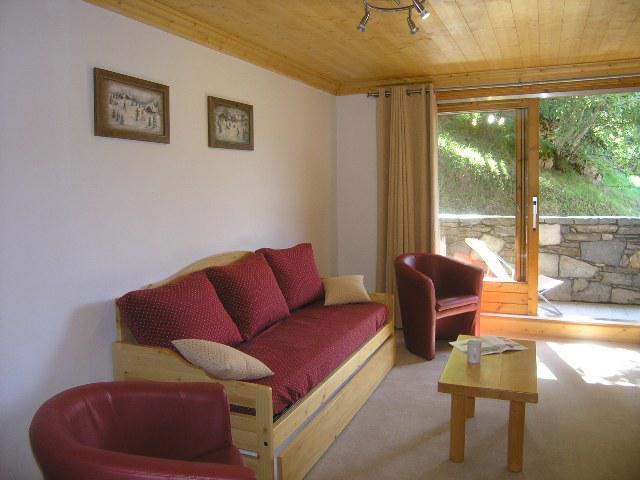 Location au ski Appartement 2 pièces 4 personnes (14) - Residence Aubepine - Méribel - Séjour