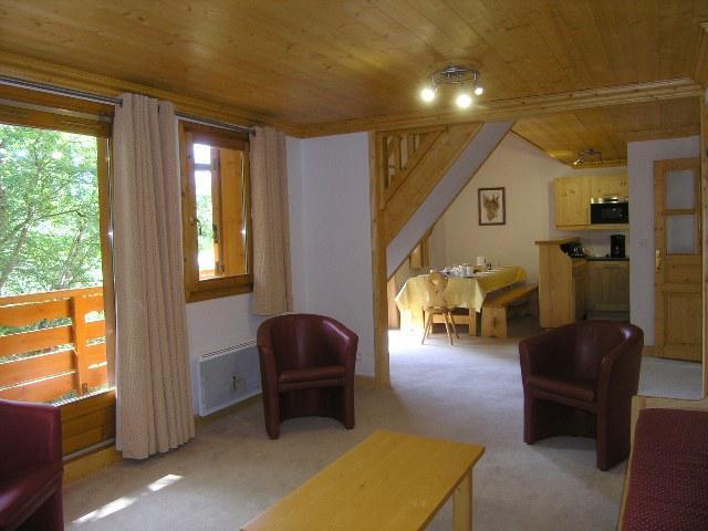 Location au ski Appartement duplex 5 pièces 10 personnes (16) - Residence Aubepine - Méribel - Séjour