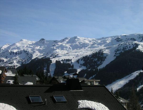 Location au ski Appartement 3 pièces 6 personnes (3) - Residence Aubepine - Méribel - Extérieur hiver