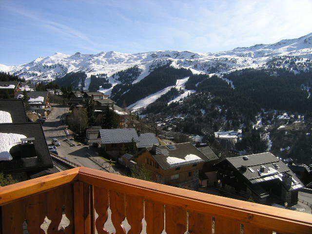 Location au ski Appartement 3 pièces 6 personnes (5) - Residence Aubepine - Méribel - Extérieur hiver