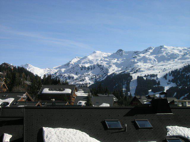 Location au ski Appartement duplex 4 pièces 8 personnes (9) - Residence Aubepine - Méribel - Extérieur hiver
