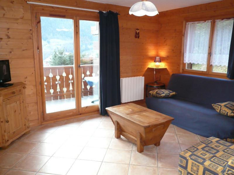 Location au ski Appartement 3 pièces 4 personnes (6D R) - Residence Bergerie Des 3 Vallees D - Méribel - Canapé-lit
