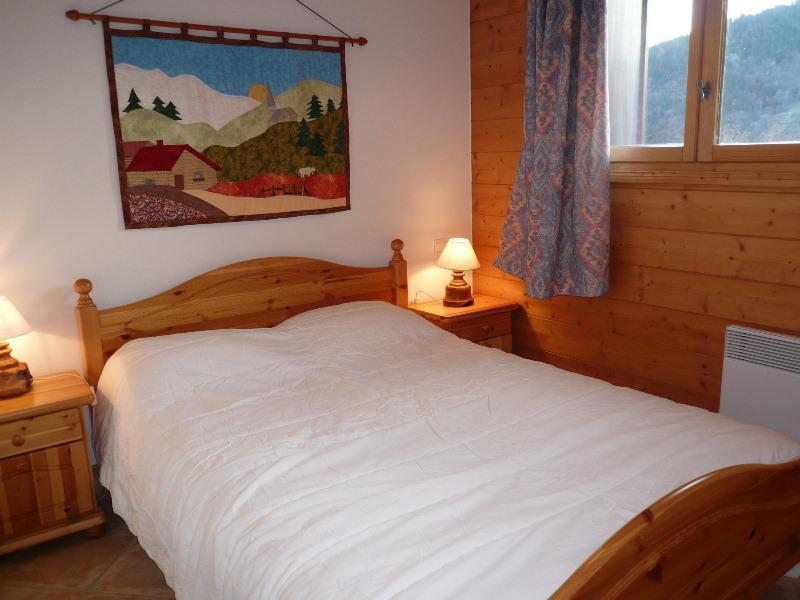 Location au ski Appartement 3 pièces 4 personnes (6D R) - Residence Bergerie Des 3 Vallees D - Méribel - Lit double