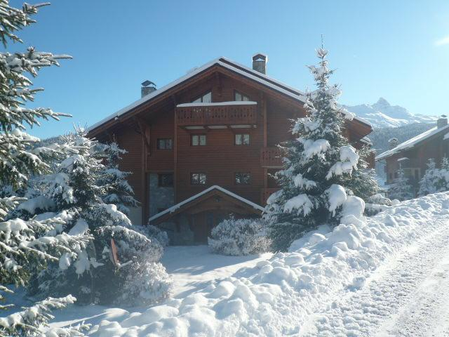 Location au ski Appartement 4 pièces 6 personnes (19 R) - Residence Bergerie Des 3 Vallees D - Méribel - Extérieur hiver