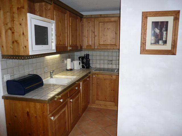 Location au ski Appartement 3 pièces 6 personnes - Residence Jardin D'eden - Méribel - Cuisine