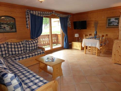 Location au ski Appartement 3 pièces 6 personnes - Residence Jardin D'eden - Méribel - Séjour