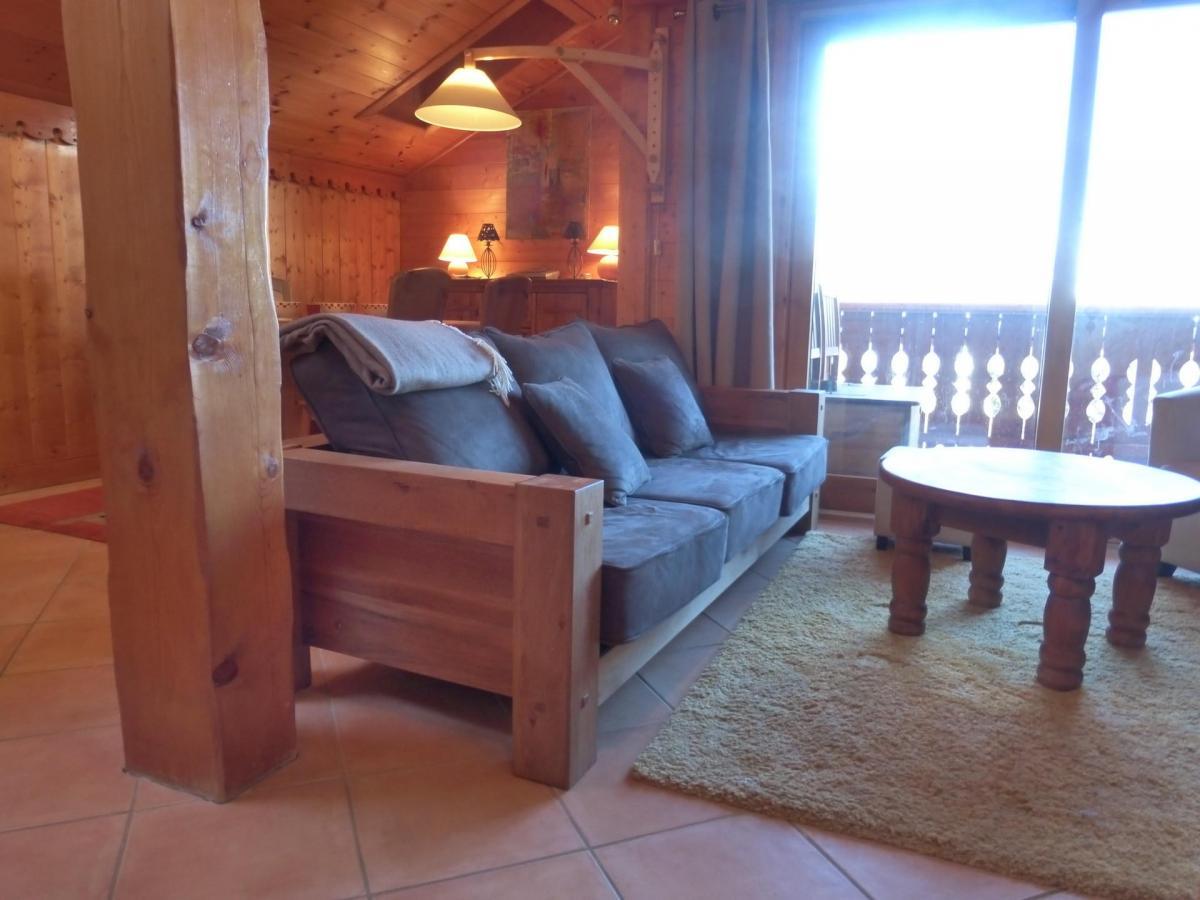 Location au ski Appartement 3 pièces 7 personnes - Residence Jardin D'eden - Méribel - Canapé