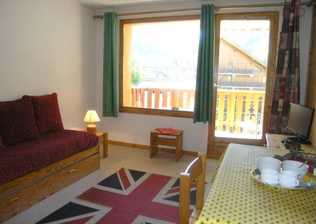 Location au ski Studio 4 personnes (17) - Residence Le Chalet De Meribel - Méribel - Kitchenette