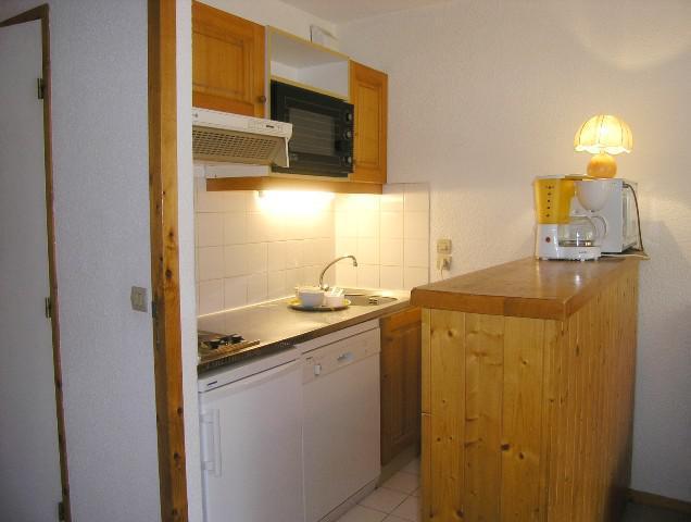 Location au ski Studio 4 personnes (17) - Residence Le Chalet De Meribel - Méribel - Salle de bains
